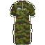 Nike Sport Camo Short Sleeve Dress - Women's