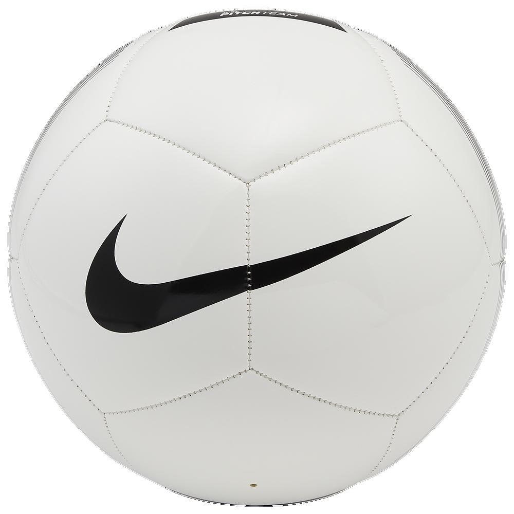 Nike Pitch Team Soccer Ball / White/Black