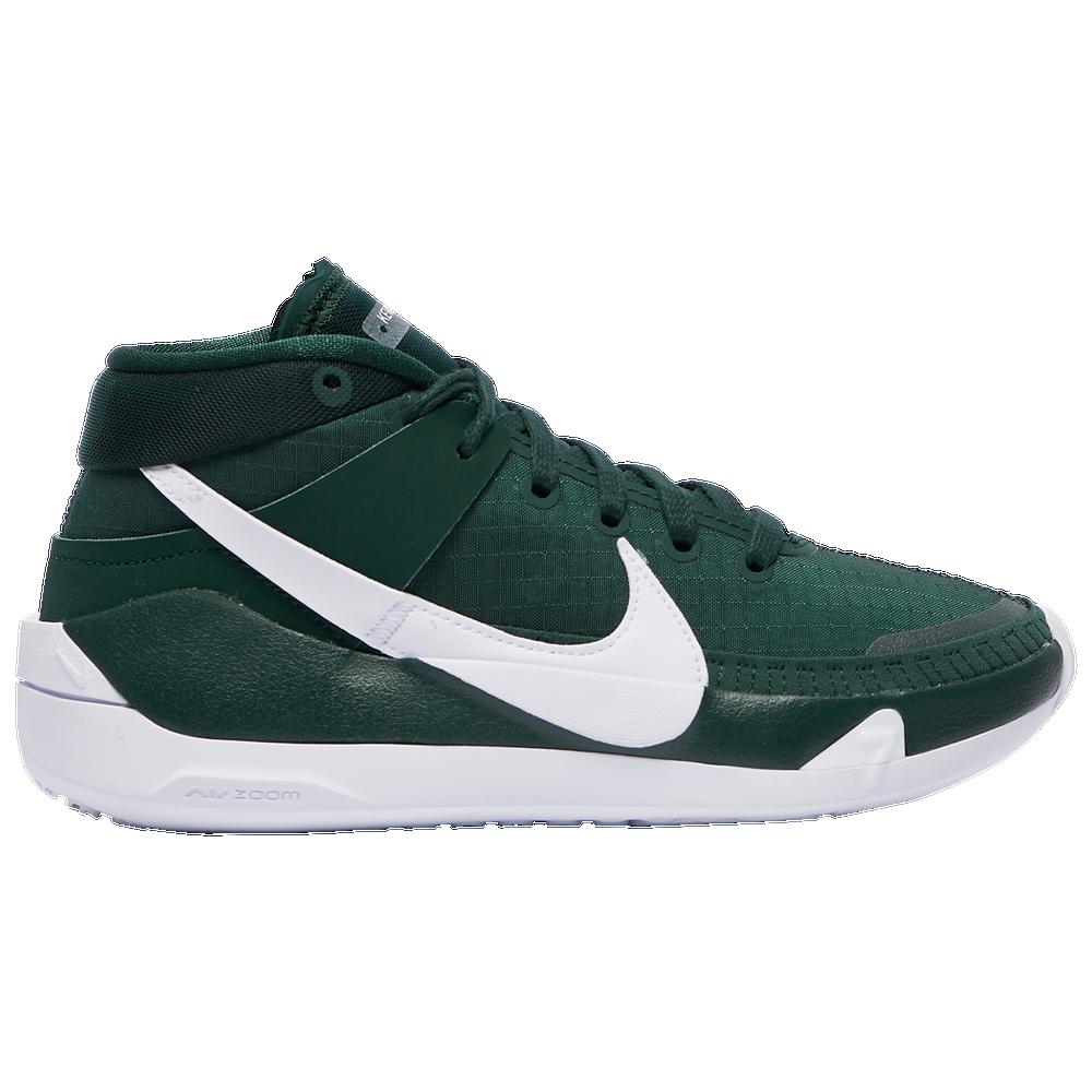 Nike KD 13 - Boys Grade School / Pro Green/White/White