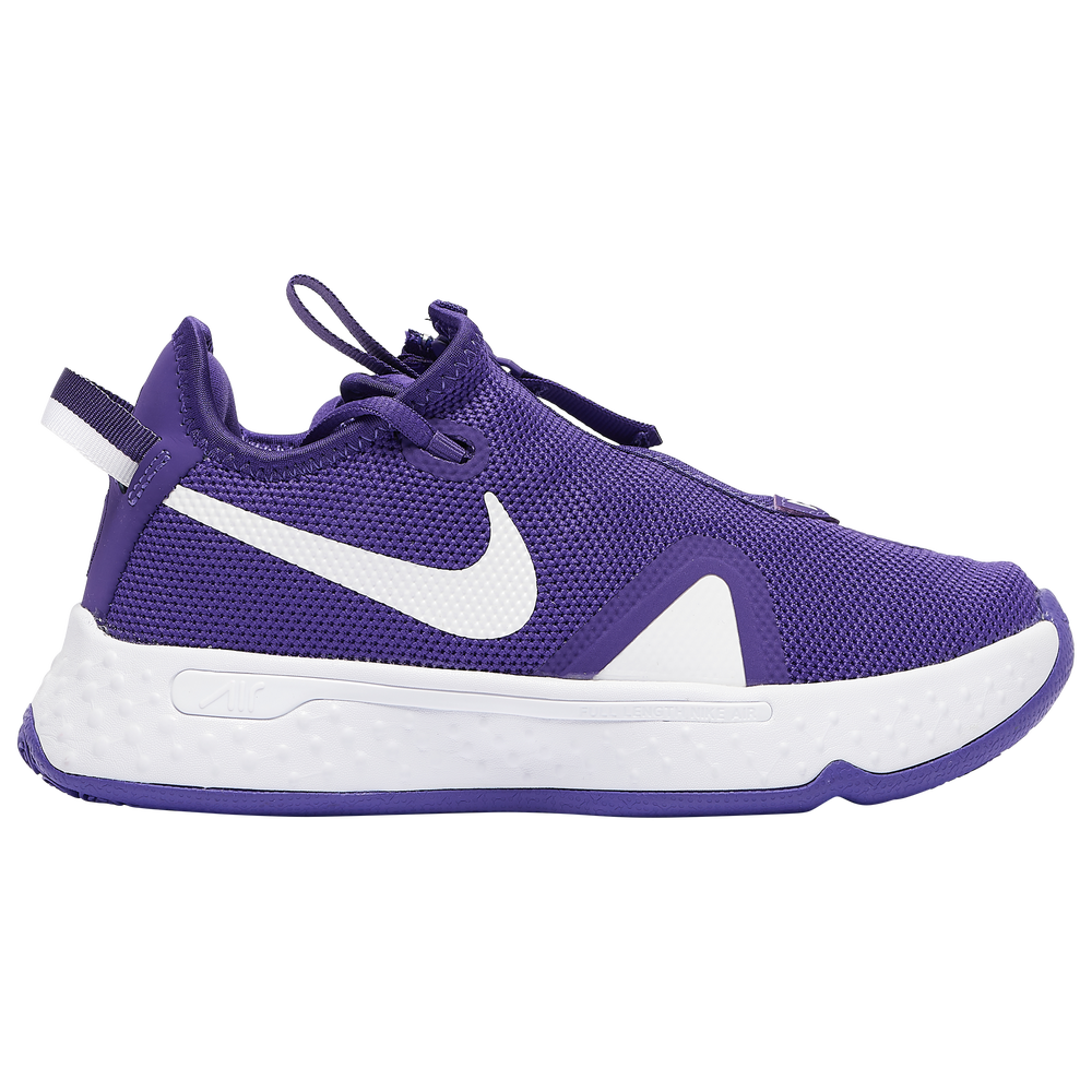 Nike PG 4 - Boys Grade School / Paul George | Field Purple/White/White