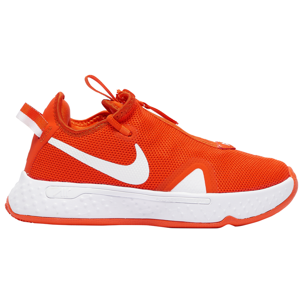 Nike PG 4 - Boys Grade School / Paul George | Team Orange/White/White
