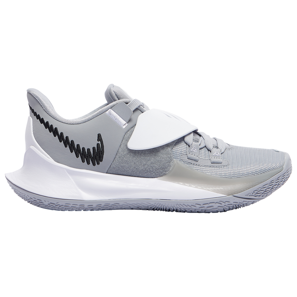 Nike Kyrie Low 3 - Boys Grade School / Kyrie Irving | Gray/Black/White