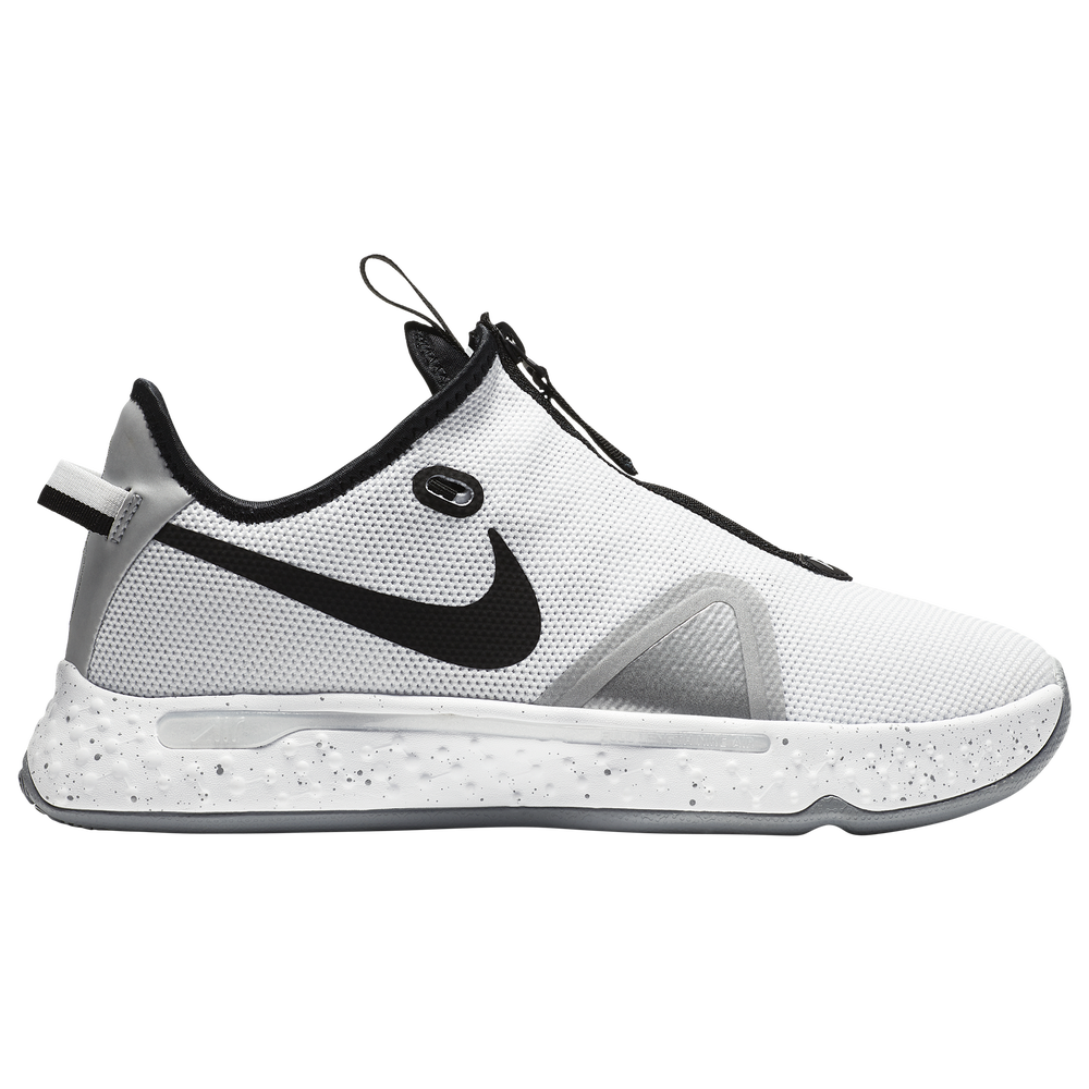 Nike PG 4 - Boys Grade School / Paul George | White/Black/Wolf Gray
