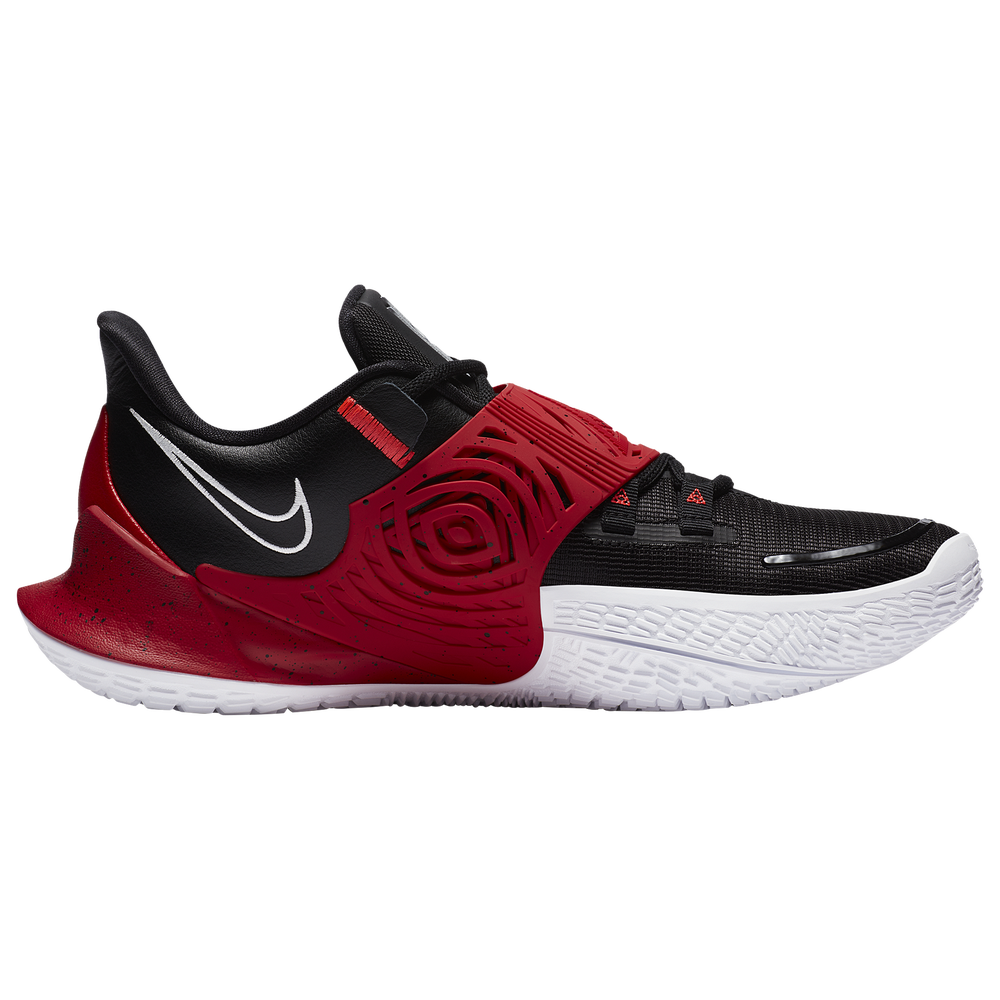 Nike Kyrie Low 3 - Boys Grade School / Kyrie Irving | Black/Metallic Silver/University Red