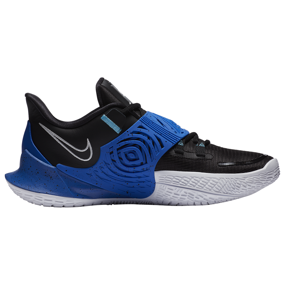Nike Kyrie Low 3 - Boys Grade School / Kyrie Irving | Black/Metallic Silver/Game Royal