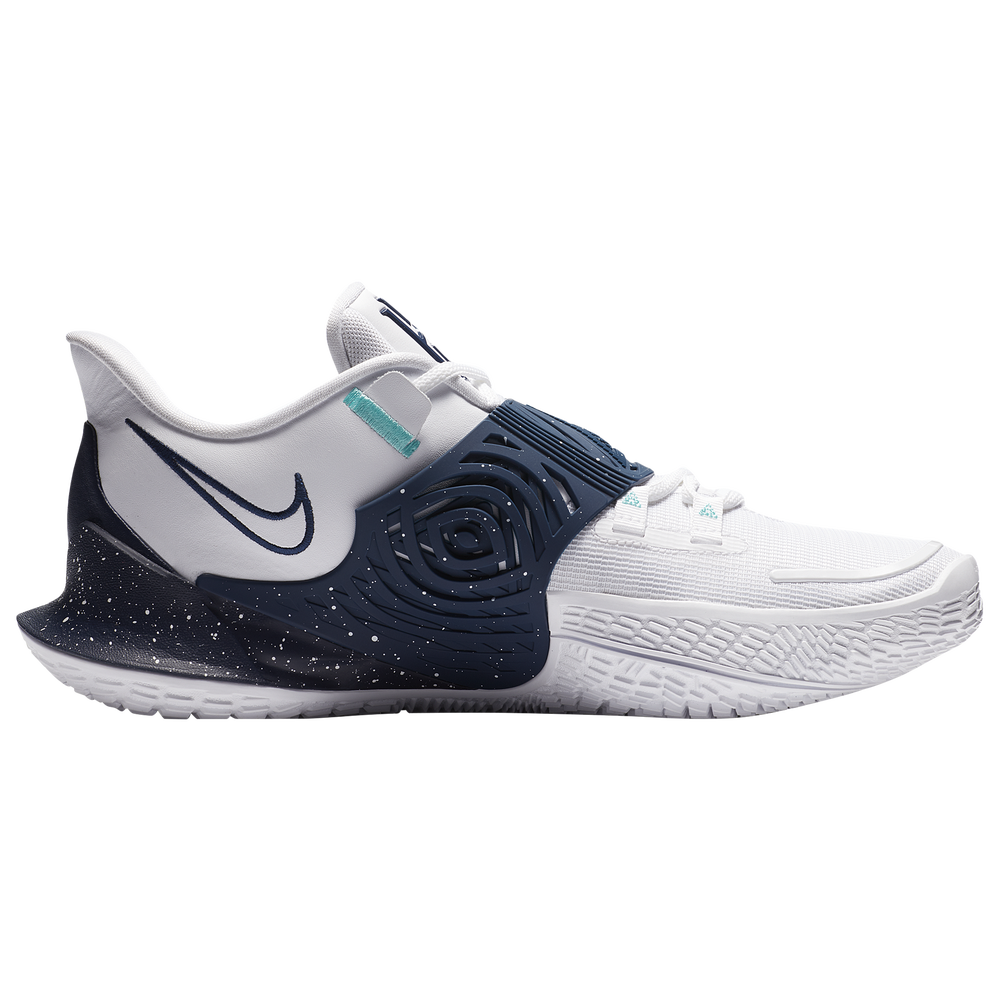 Nike Kyrie Low 3 - Boys Grade School / Kyrie Irving | White/Midnight Navy/Midnight Navy
