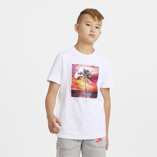 Nike BOYS NIKE AIR PHOTO PALM SHORT SLEEVE T-SHIRT