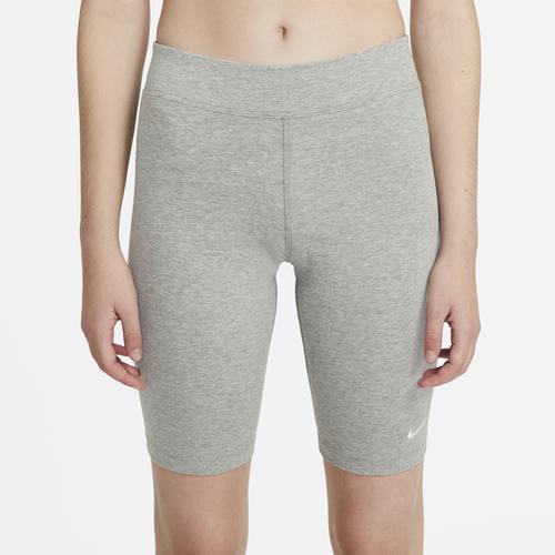 Nike Cottons WOMENS NIKE ESSENTIAL BIKE LBR MR SHORTS