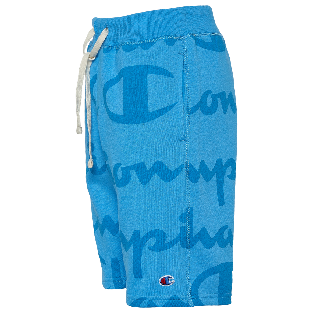 Champion Heritage Big Script Fleece Shorts by Eastbay