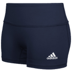 "adidas Team Climalite Techfit 4"" Shorts - Girls' Grade School"
