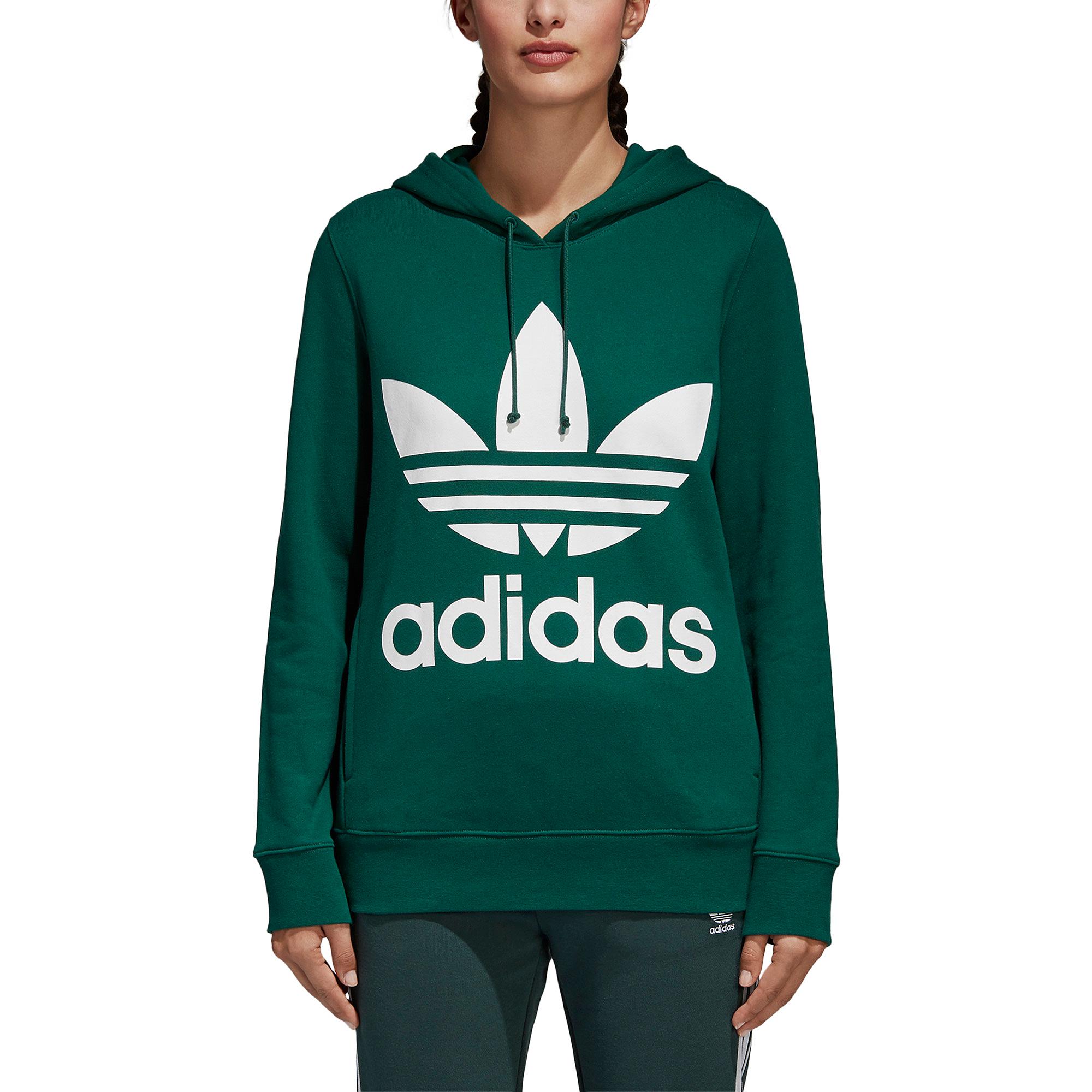 adidas Originals Adicolor Trefoil Hoodie - Women\u0027s
