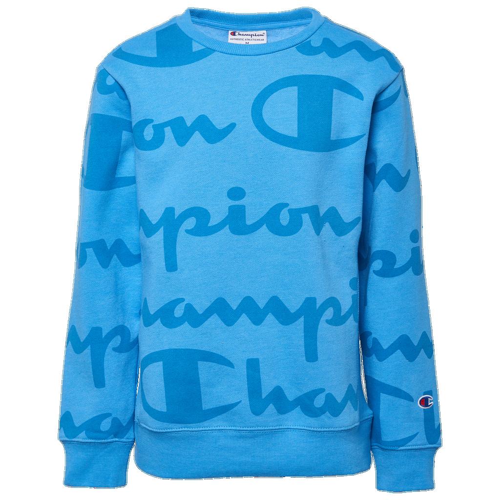 Champion Heritage Big Script Fleece Crew by Champion