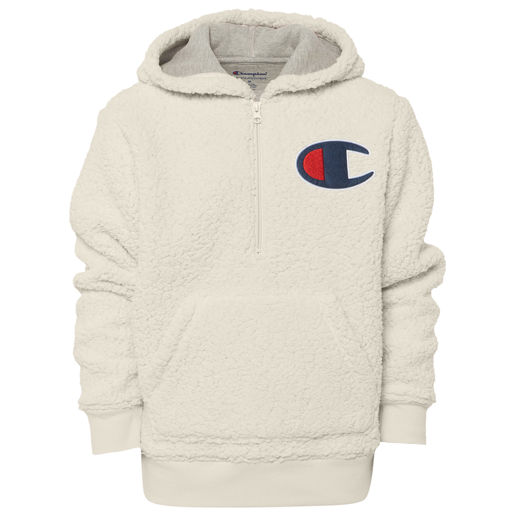 dirt cheap latest design new design Shoptagr | Champion Sherpa Hoodie by Kids Foot Locker