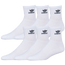 adidas Originals Trefoil 6-Pack Quarter Socks - Men's