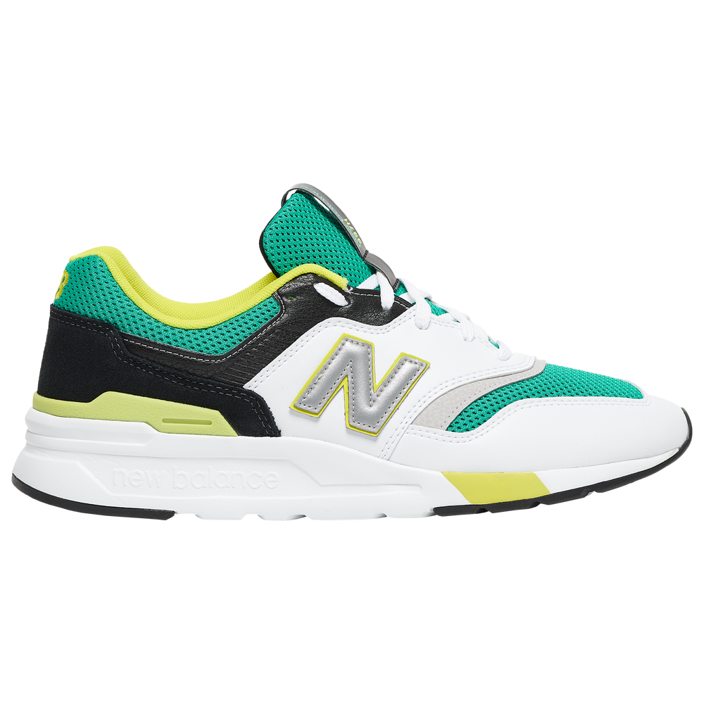New Balance 997H - Mens / White/Green/Black