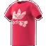 adidas All Over Print Floral Camo T-Shirt - Girls' Grade School