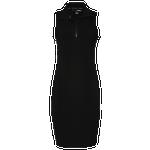 Dkny Mock Neck Tank Zip Dress - Women's