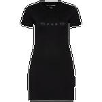 Dkny Metallic Rubber Logo Dress - Women's