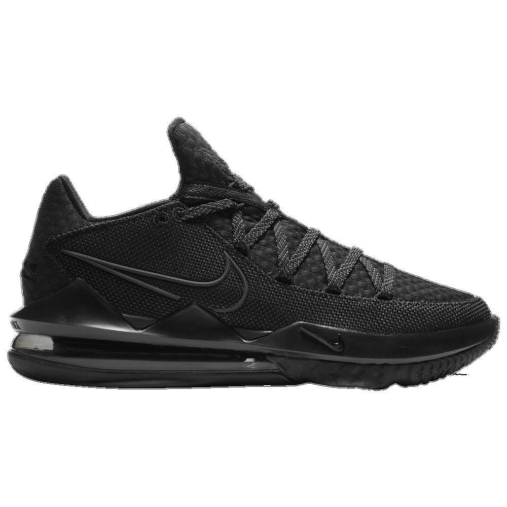 Nike LeBron 17 Low - Mens / Lebron James | Black/Black/Black