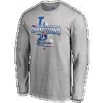 Majestic MLB League Champ Locker Room LS T-Shirt - Men's
