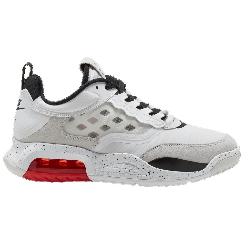 Jordan Max 200 - Mens / White/Black/Challenge Red/Vast Grey