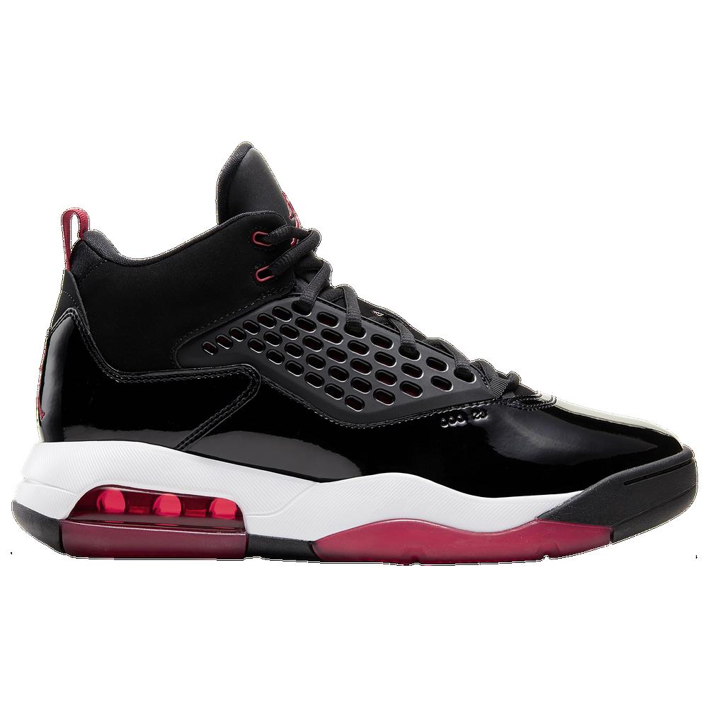 Jordan Maxin 200 - Mens / Black/Gym Red/White