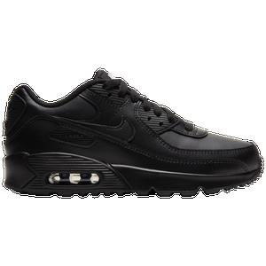 nike air max 90 womens black leather