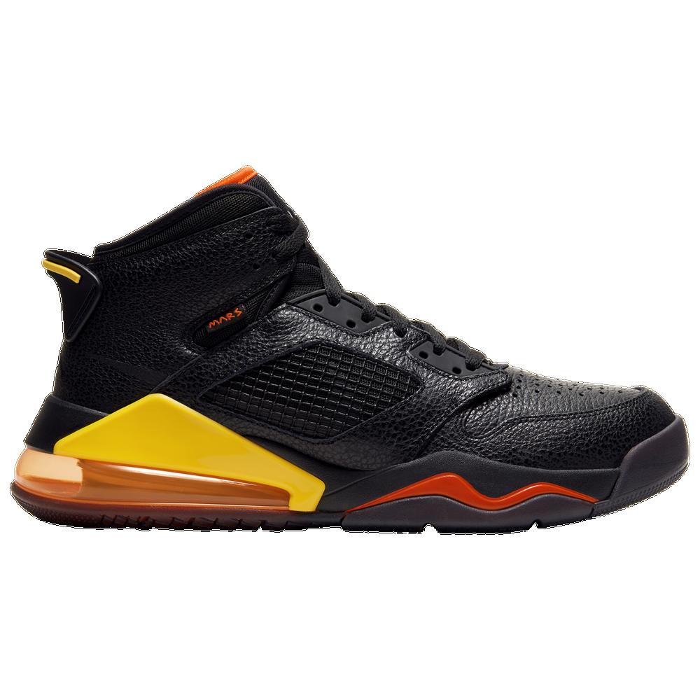 Jordan Mars 270 - Mens / Black/Team Orange/Amarillo