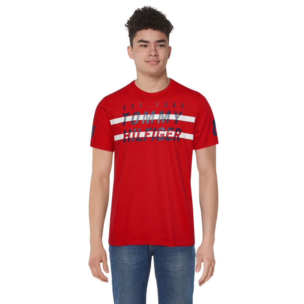 Tommy Hilfiger Field T-Shirt - Mens / Racing Red