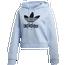 adidas Originals Strict/Clash Trefoil Crop Hoodie - Women's