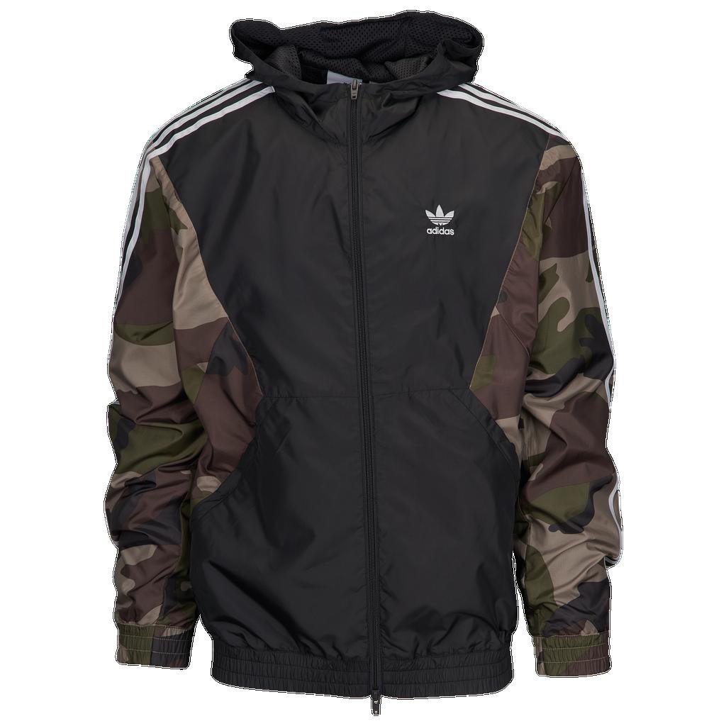 Adidas Originals Camo Windbreaker by Eastbay