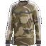 adidas Originals Camo Trefoil Long Sleeve T-Shirt - Men's