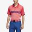adidas Ultimate 3-Stripe Heather Gradient Polo - Men's