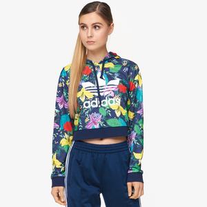 adidas Originals Womens Winter Ease Velvet Hoodie Base Green from Foot Locker   more