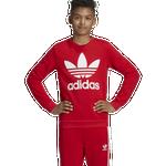 adidas Originals Adicolor Trefoil Crew - Boys' Grade School