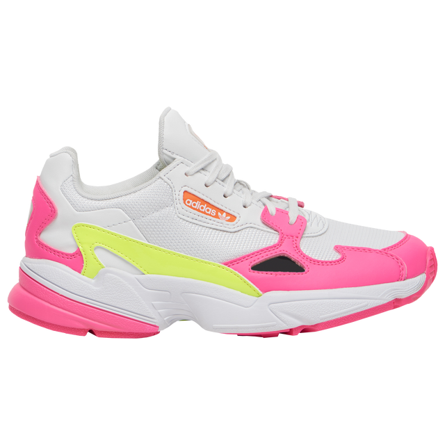Adidas Originals Falcon Women's Shoes (Pink/Solar Yellow/Raw White)