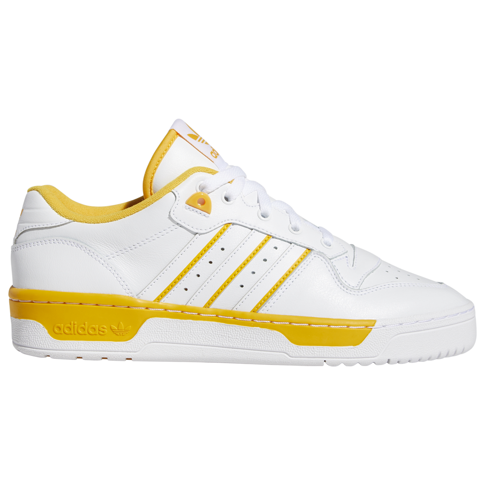 adidas Originals Rivalry Low - Mens / White/White/Active Gold