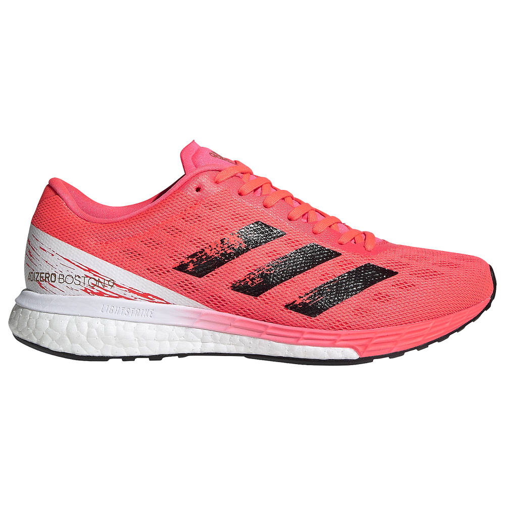 adidas adiZero Boston 9 - Womens / Signal Pink/Black/Copper Metallic