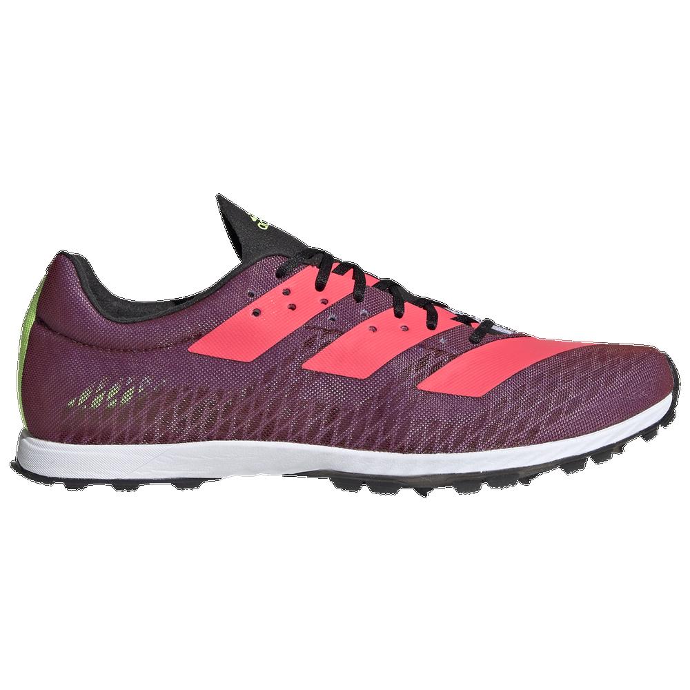 adidas adiZero XC Sprint - Womens / Core Black/Signal Pink/Signal Green