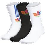 adidas Originals 3D Trefoil 3-Pack Crew Socks - Men's