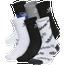 adidas Originals Trefoil Mixed 6 Pack Crew Socks - Boys' Grade School