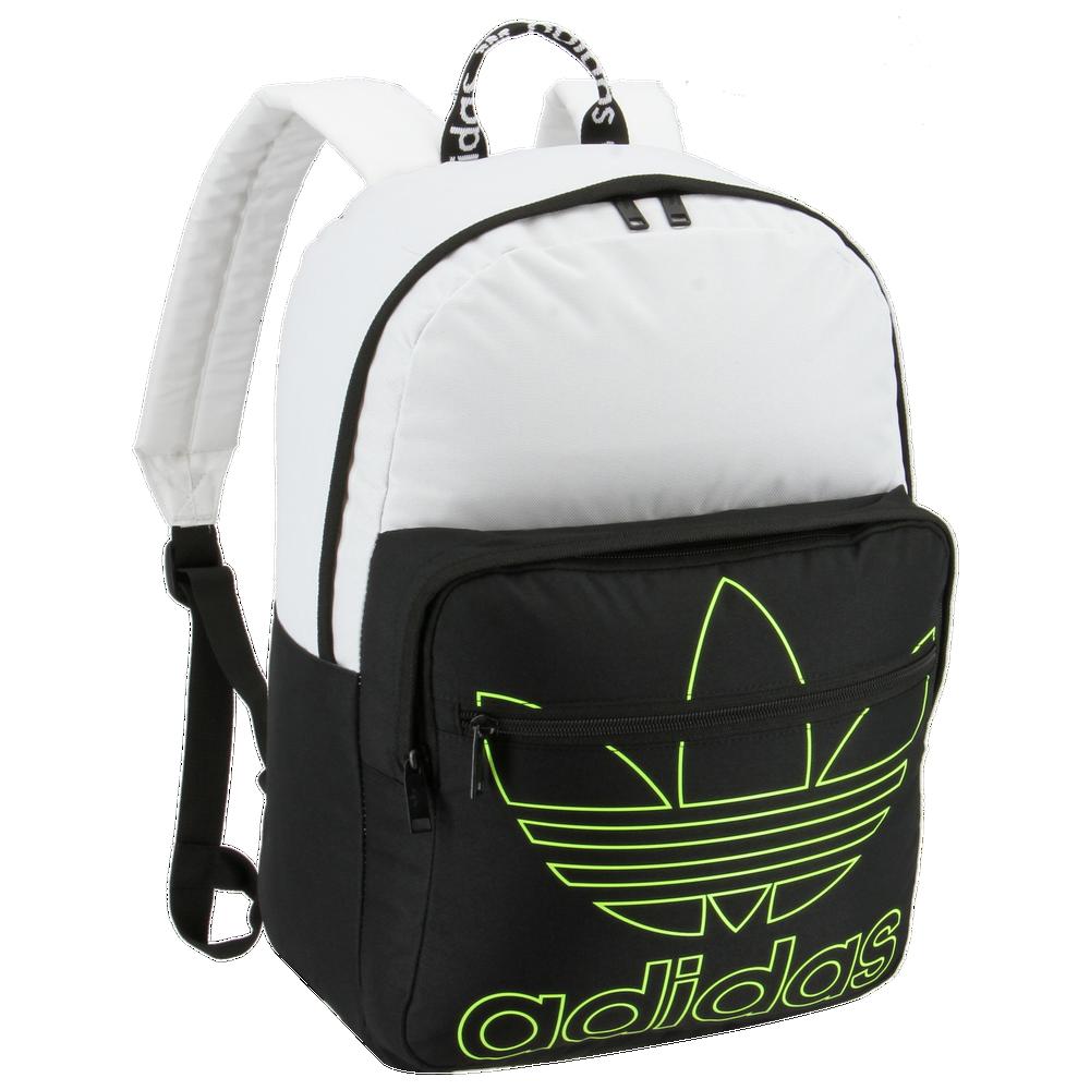 adidas Originals Trefoil Pocket Backpack / White/Black