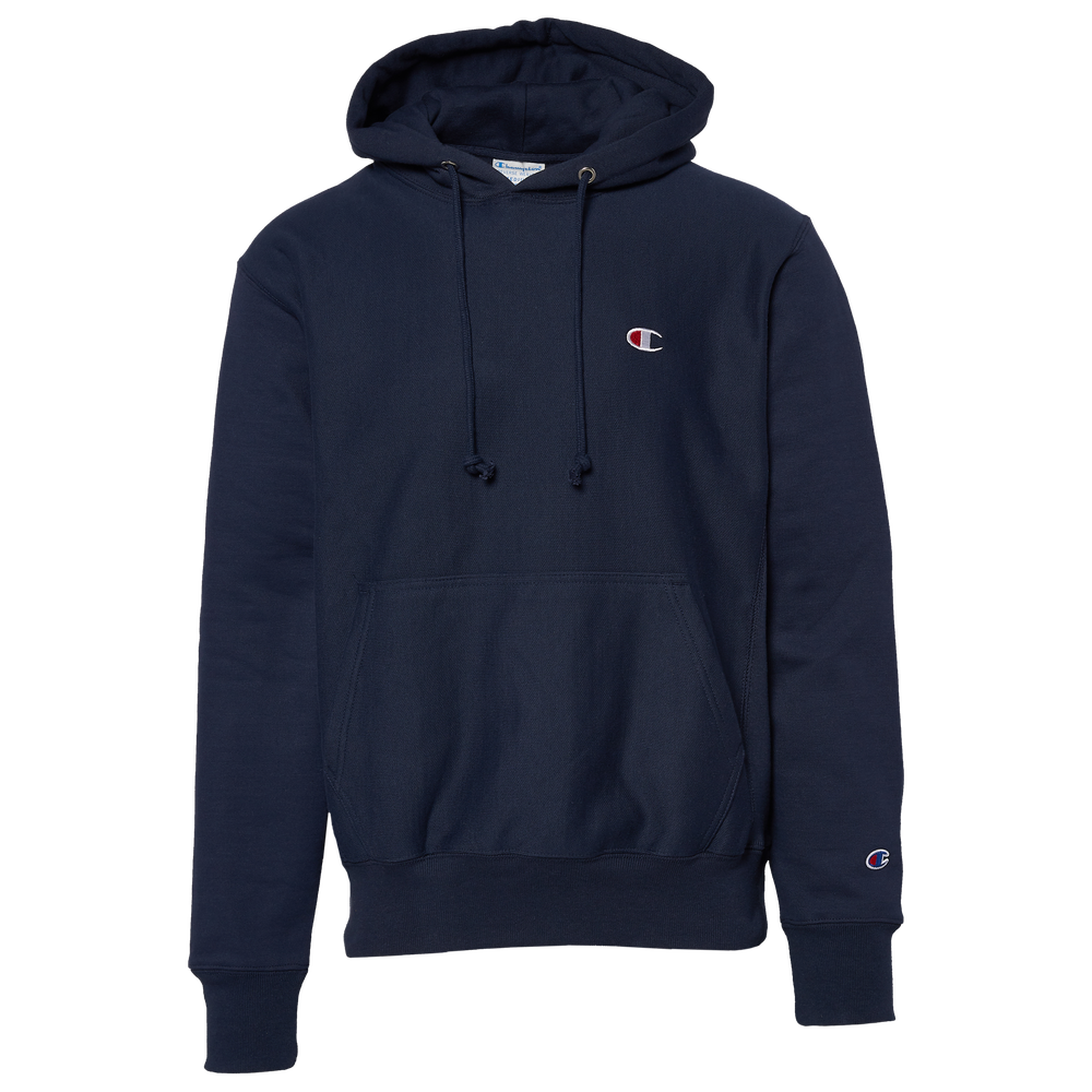 Champion Reverse Weave Left Chest C Pullover Hoodie - Mens / Navy/Navy