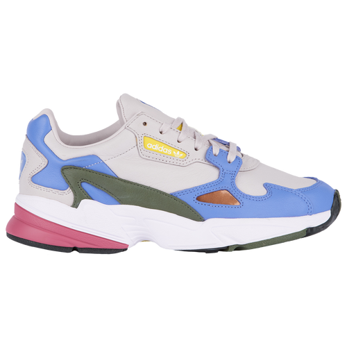 low priced 02a14 b482d Womens adidas Originals Falcon - Ice PurpleReal LilacBase Green (Shoes  Casual
