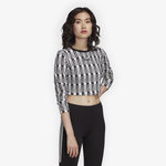 adidas Originals Crop Long Sleeve T-Shirt - Women's