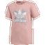 adidas Originals Floral Trefoil T-Shirt - Girls' Grade School