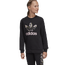 adidas Originals Leopard Print Crew - Girls' Grade School