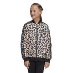 adidas Originals Leopard Print Superstar Track Top - Girls' Grade School