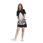 adidas Originals Adicolor Big Trefoil Tee Dress - Women's