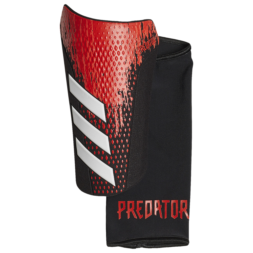 adidas Predator Competition Shin Guards - Adult / Black/Active Red